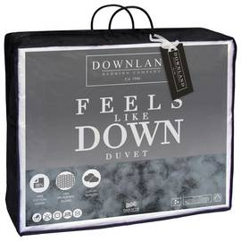 Downland Feels Like Down Anti-Allergy 10.5 Tog Duvet - Dbl