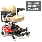 more details on Portable Power Wheelchair - Cream.