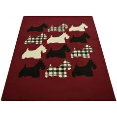 Scottie Dog Rug