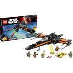 more details on LEGO Star Wars:The Force Awakens Poe's X-Wing Fighter 75102.