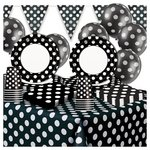 more details on Decorative Dots Party Pack - Black.