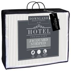 Downland Cotton Striped Pair of Pillows