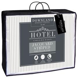 Downland Cotton Striped Pillow - 2 Pack