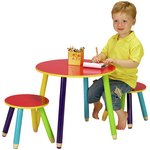 more details on HOME Pencil Table and 2 Chairs.