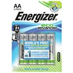 more details on Energizer Eco Advanced AA Batteries - Pack of 4.