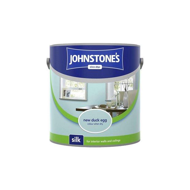 Buy johnstone 39 s vinyl silk paint 2 5l duck egg at your online shop for paint - Johnstones exterior paint set ...