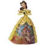 more details on Disney Traditions Enchanted Belle Ornament.