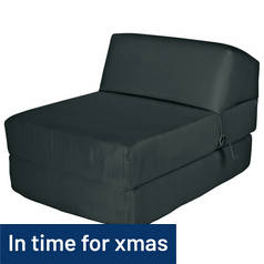 ColourMatch Single Chairbed - Jet Black