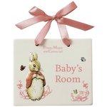 more details on Beatrix Potter Flopsy Bunny Door Plaque.