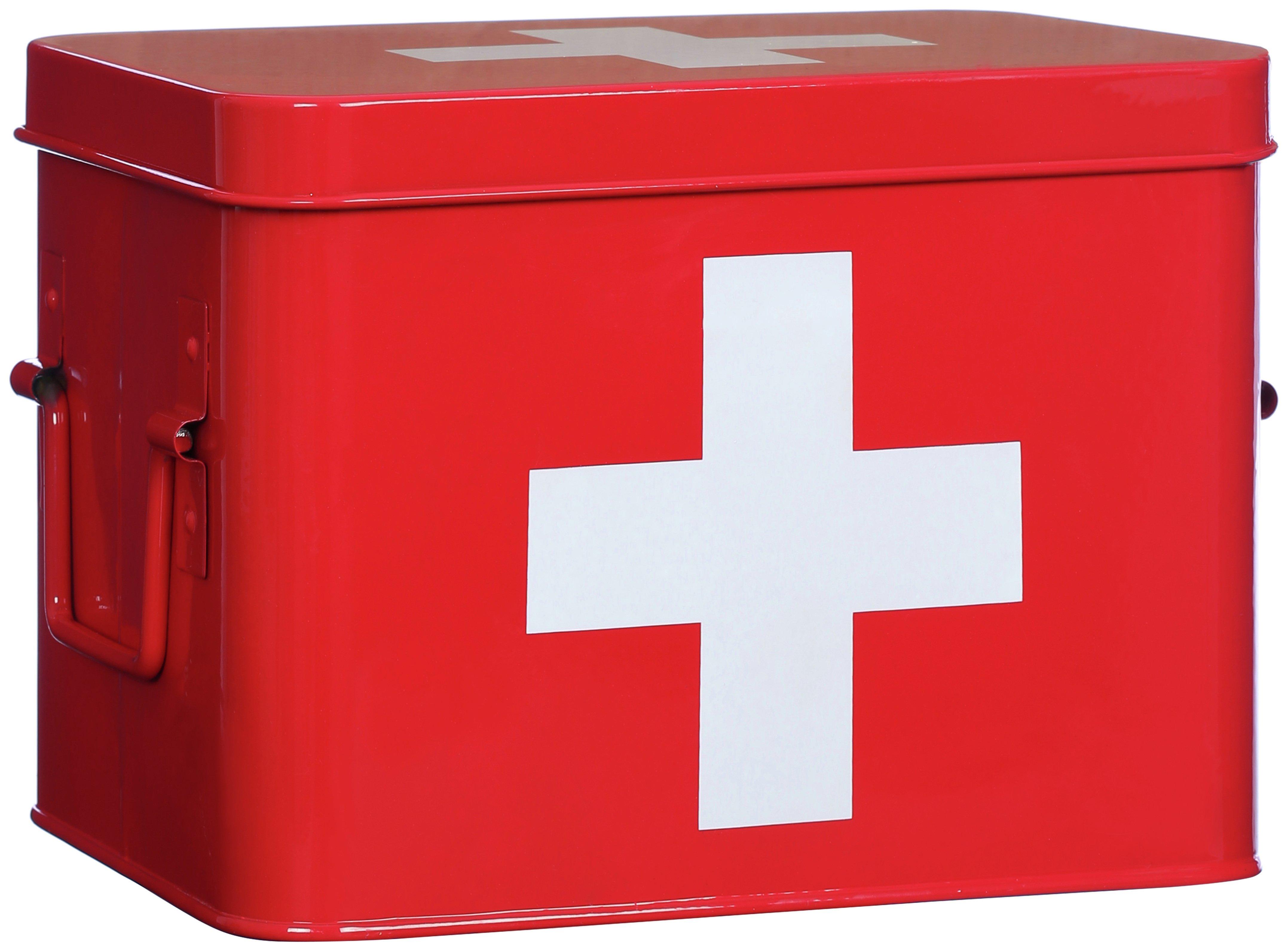 Premier Housewares Red Cross First Aid Box