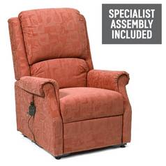 Chicago Riser Recliner Chair with Single Motor - Terracotta