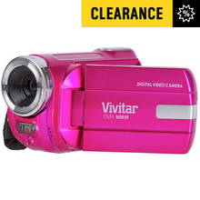 Vivitar DVR908M Full HD Camcorder - Pink