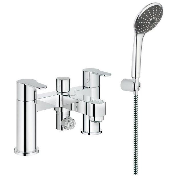 buy grohe wave cosmopolitan bath and shower mixer set at. Black Bedroom Furniture Sets. Home Design Ideas