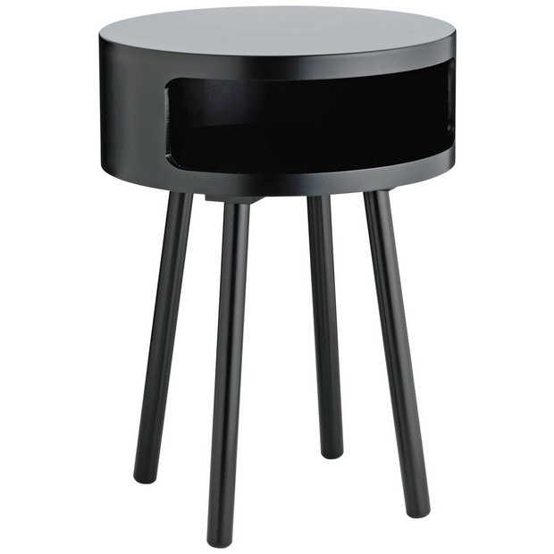 Black Coffee Table Nest: Buy Habitat Bumble Side Table - Black