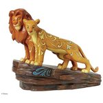 more details on Disney Traditions Love at Pride Rock Simba and Nala Figurine