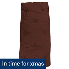 Argos Home Futon Single Mattress - Chocolate