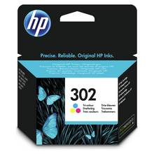 HP 302 Original Ink Cartridge - Colour