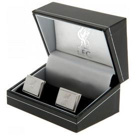 Stainless Steel Liverpool Crest Cufflinks.