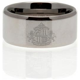 Stainless Steel Sunderland Ring - Size R