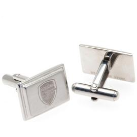 Stainless Steel Arsenal Crest Cufflinks.