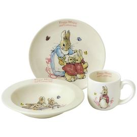 Beatrix Potter Flopsy Mopsy Three Piece Nursery Set.