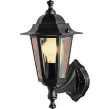 Wall lights and lanterns argos home outdoor wall lantern black aloadofball Image collections