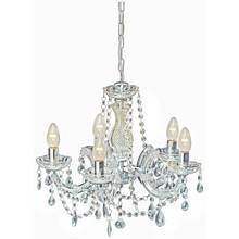 Chandeliers ceiling and wall lights argos collection inspire 5 light chandelier clear aloadofball Gallery