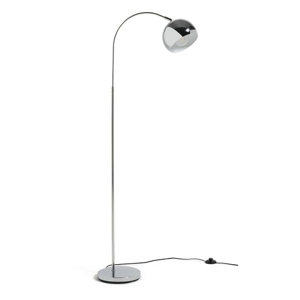 Buy Argos Home Curva Floor Lamp Chrome | Floor lamps | Argos