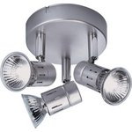 more details on HOME Asber 3 Light Mini Ceiling Plate - Silver.