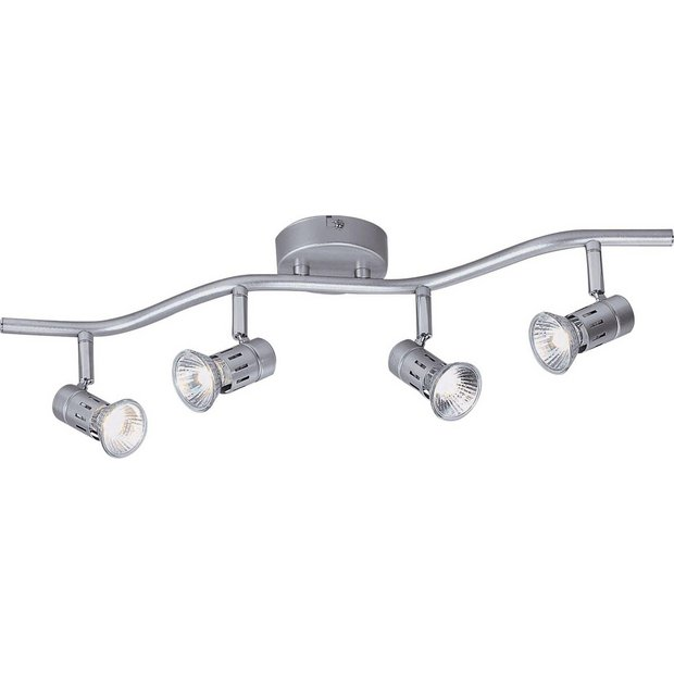 Buy HOME Asber 4 Light Wave Ceiling Fitting