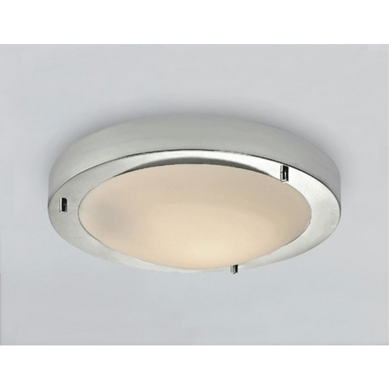Bathroom Light Pulls Argos buy home frosted glass flush bathroom ceiling fitting - chrome at