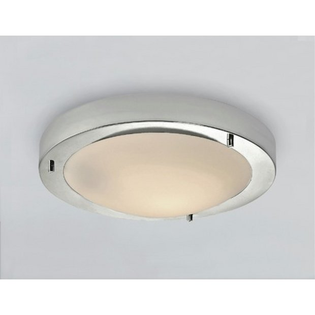 Ceiling Lights Argos: ... more details on HOME Flush Bathroom Ceiling Fitting - Chrome.,Lighting