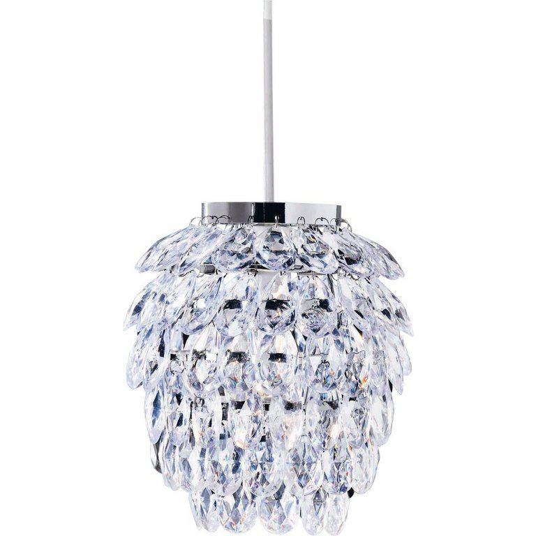 Buy HOME Pineapple Shape Pendant Shade Clear at Argoscouk