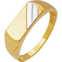 Revere 9ct Gold Multi Coloured Signet Ring