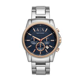 Armani Exchange Men's Stainless Steel Chronograph Watch