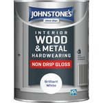 more details on Johnstone's White Non Drip Gloss 1.25L.