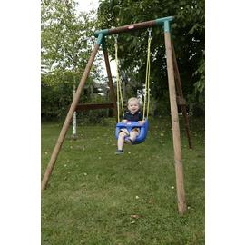 Little Tikes High Back Toddler Swing Seat - Blue.