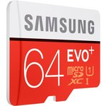 more details on Samsung 64GB Evo Plus SD Flash Card Adaptor