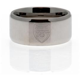 Stainless Steel Arsenal Ring - Size R
