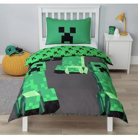 Minecraft Bedding Set - Single
