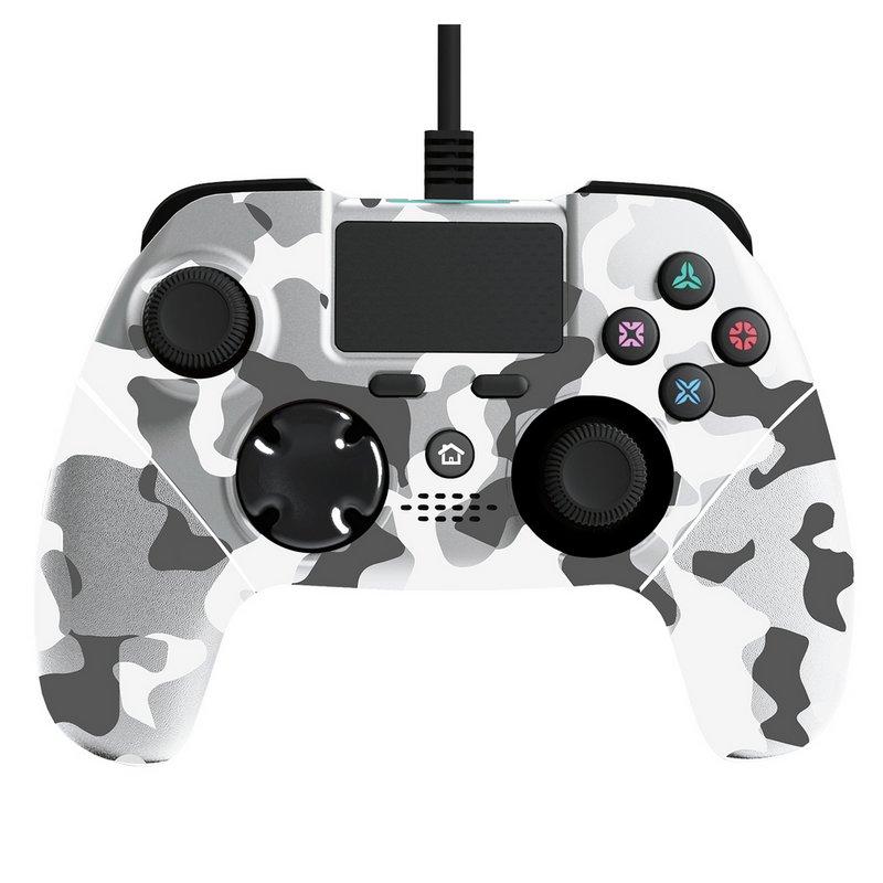 Mayhem MK1 PS4 Controller - White Camo Pre-Order from Argos