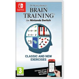 Dr Kawashima's Brain Training Nintendo Switch Game