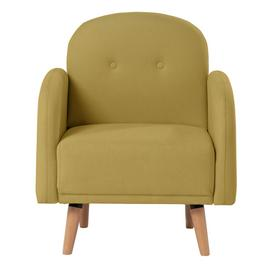 Argos Home Jemima Fabric Armchair in a Box - Yellow