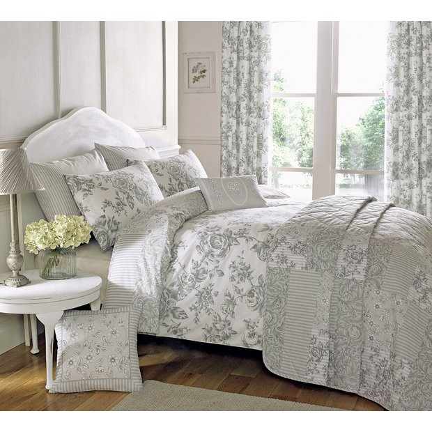 Buy Dreams N Drapes Malton Slate Bedding Set Kingsize
