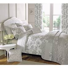 Dreams N Drapes Malton Slate Bedding Set - Kingsize