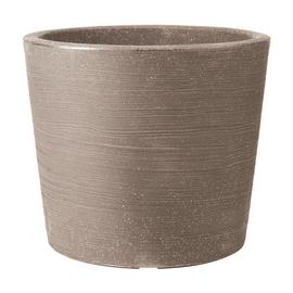 Keter 40cm Varese Low Planter - Dark Brown