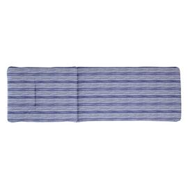 Argos Home Sun Lounger Cushion - Coastal Stripe
