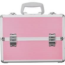 Pretty Pink Large Aluminium Vanity Case