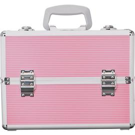 Pretty Pink Large Aluminium Vanity Case
