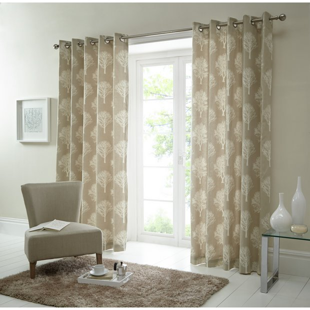 Buy Fusion Woodland Trees Curtains